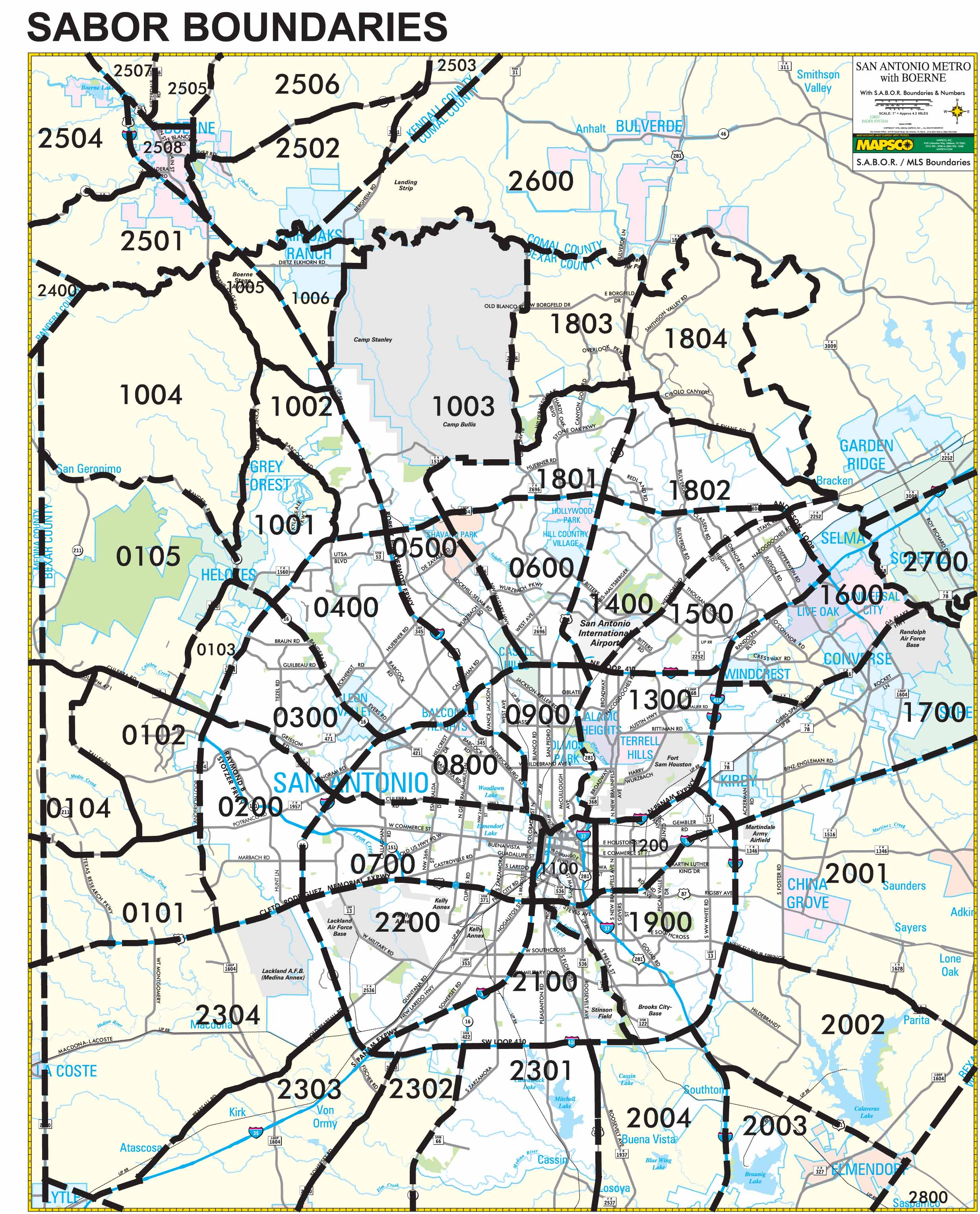 Area Map  Affordable Houses for Sale in San Antonio