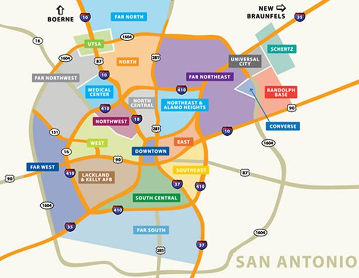 san antonio neighborhoods map San Antonio Neighborhood Map Affordable Houses For Sale In San san antonio neighborhoods map
